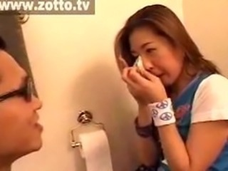 Amateur Asian Korean Toilet