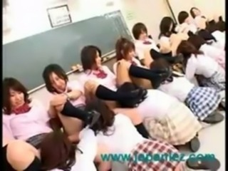 Japan Students Have School Orgy free