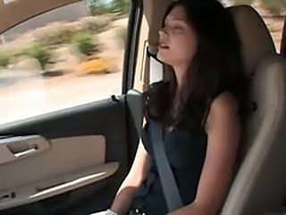 Amateur Car Teen