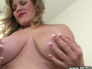 Blonde Milf Sucks Dick And Gives Russian