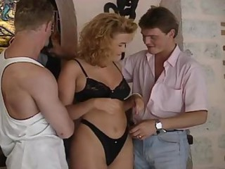 Slutty Blonde Fucks Her Father's..
