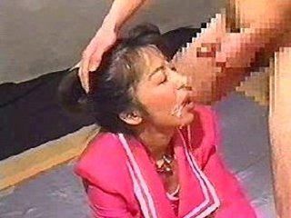 Asian Blowjob Bukkake Japanese Mature
