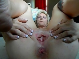 Chubby Clit Mature Pussy Shaved