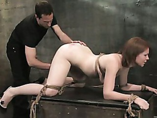 Slave candidate fucked and tested