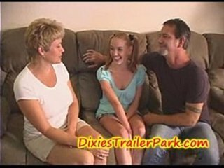 Babysitter Mom Pigtail Teen Threesome