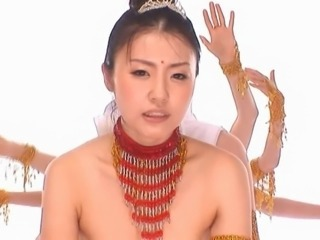 Asian Cute Dancing Japanese Teen