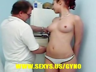 Camila, young innocent teen at gyno exam