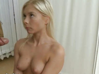 Blonde Gets Examined By Cock In Doctors Office