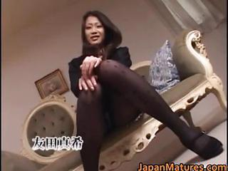 Asian Japanese Mature Pantyhose