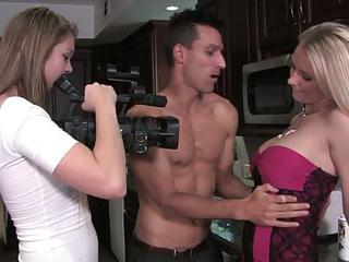 Scorching Natalie Norton Is Filmed With This Hot Stud