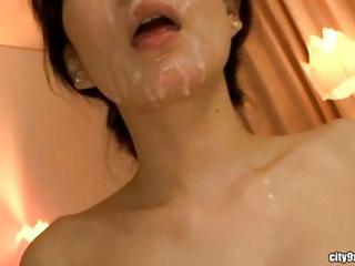 Asian Cumshot Facial Korean MILF