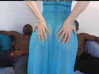 Superb Milf Interracial Threesome Black Ebony Cumshots Ebony Swallow Interracial