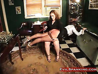 Brutal Girl Gets Some Fun Spanking