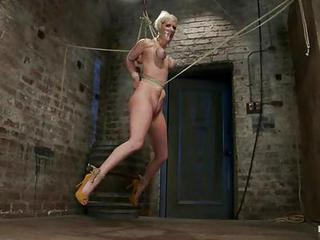 Awesome Cherry Torn Gets Tied Up & Suspended