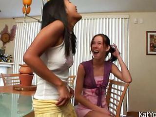 Asian Interracial Lesbian Teen