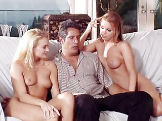 Three Pretty Sluts Have Hot 5 Way With Two Other Guys