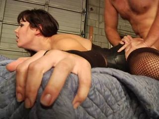 Bobbi, Brunette Babe Brutally Butt Banged