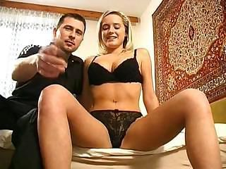 Young Blonde  Her First Time