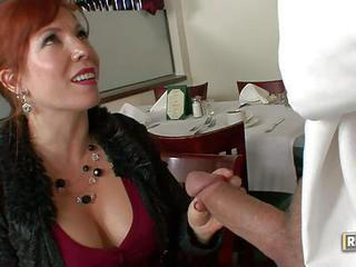 Mature Redhead Brittany Oconnell Is Cock Hungry. She Satisfies Her Sex...