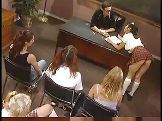 Naughty  Girls in A Hot Classroom...F70