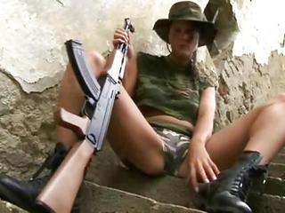Army Babe Outdoor Uniform