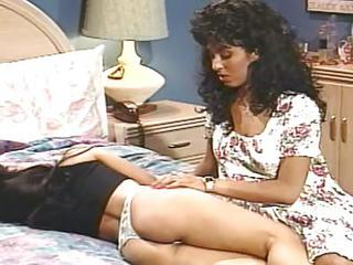 Vintage Ebony On Asian Lesbian Scene
