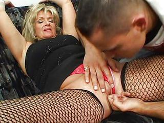 Fishnet Mature Old and Young