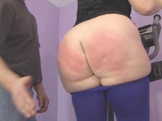 SPANKING Jiggling Fat Ass 2