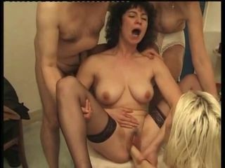 French Orgy (Fucking and Fisting)
