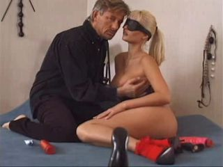 Nikki Anderson Blindfolded And Gaped
