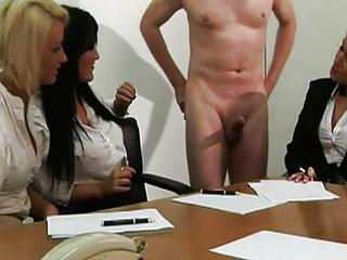 Office Babes Get A Hard Priority...