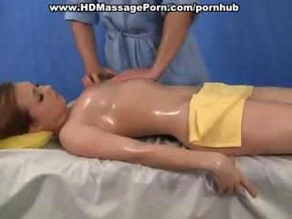 Cute Massage Oiled Teen