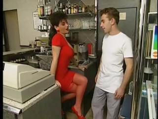 MILF Office Stockings Vintage