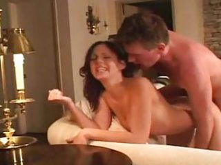 Babysitter fucked by the older person