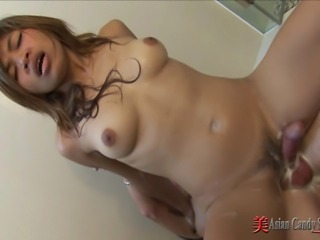 Watch these sexy Asian Teens as they bathe, soap up and massage a lucky guy...