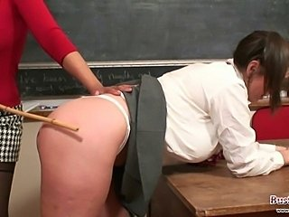 School Spanking Teacher