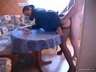 milf in kitchen free