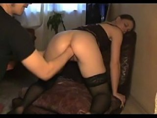 Amateur Fisting MILF Stockings