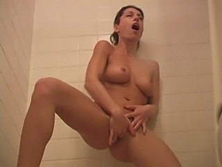 isabella in the shower