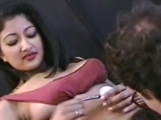 Claudia indian wet crack licked