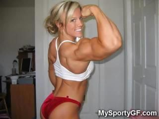 The Most Sexy Muscle GFs Ever!