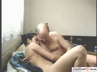 Russian Teen Fucks Stepuncle For Money