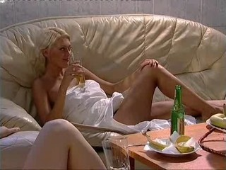 Amazing Blonde Drunk Russian Teen