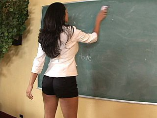 Brunette MILF Pornstar School Teacher