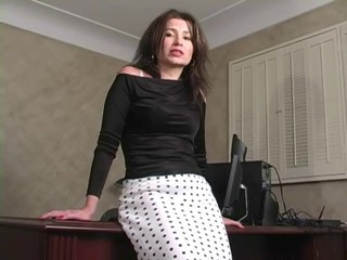 Masturbating MILF Russian
