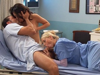 Babe Blowjob Hardcore Nurse Threesome Uniform