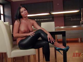Victoria Blaze Is A Raven-headed Young Babe With Hot Body. Chick In Hi...