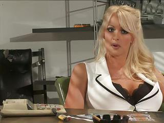Sexy Big Titted Blonde Stormy Daniels Stars In Steamy Adult Movie. Thi...