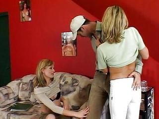 Horny Threesome Action
