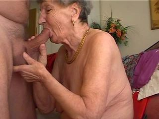 Granny likes to play the flut...